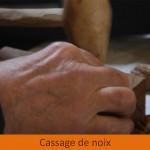 Énoisage et huile de noix au château de Varaignes