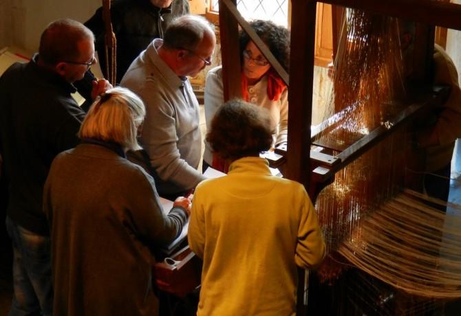 Varaignes Atelier musée charentaise tisserand©CPIE Périgord Limousin (5)