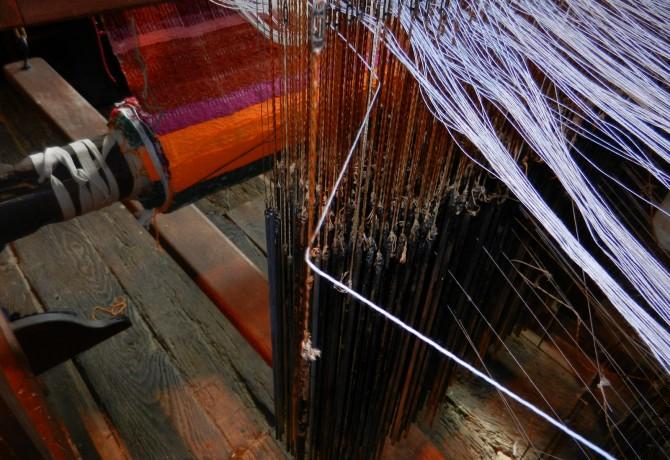 Varaignes Atelier musée charentaise tisserand©CPIE Périgord Limousin (7)