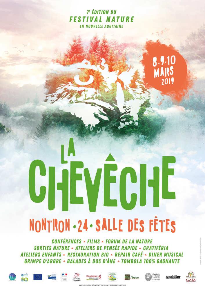 affiche du festival La Chevêche 2019