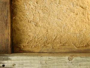 structure en bois pour maison en paille