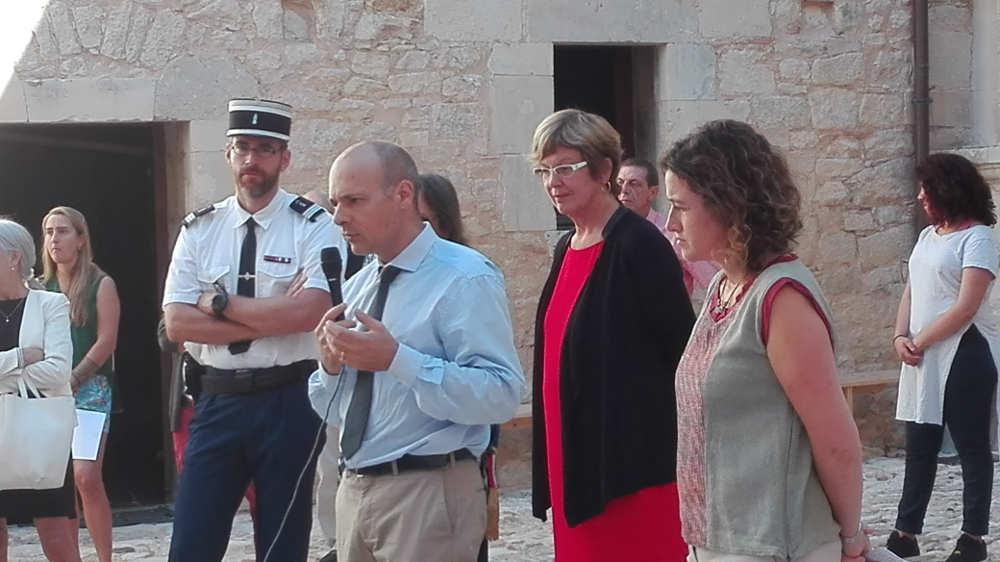 discours d'inauguration du Sous Préfet Château de Varaignes