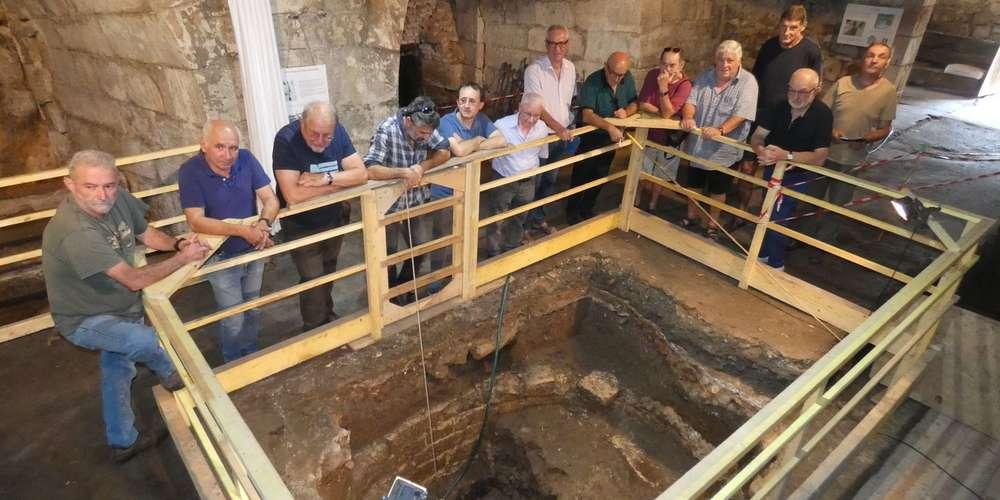 programme du collectif de recherches par rapport aux fouilles de la fosse à canon à Forgeneuve