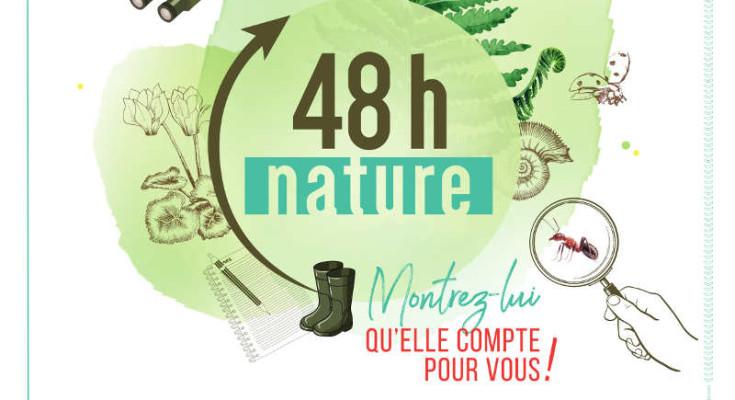 affiche des 48h nature en Nouvelle Aquitaine