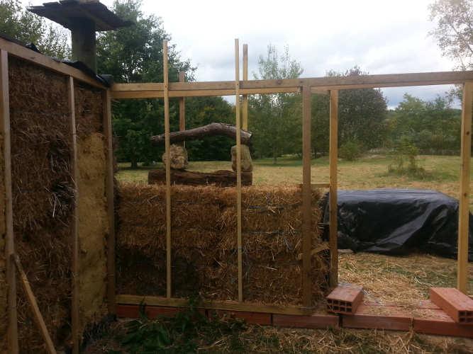fenêtre stage construction paille