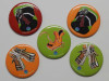 magnets dindons et charentaises 56mm