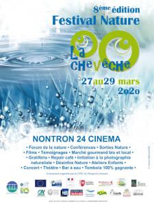 affiche du festival nature la Chevêche-2020