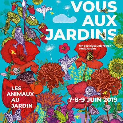 affiche Rendez-vous aux jardins-2019