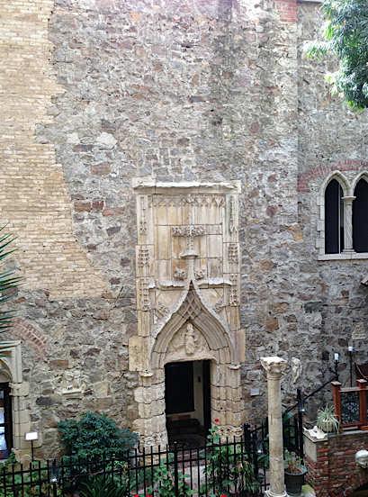 porte gothique au musée Hammond