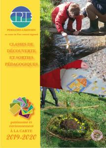 couverture du programme classe découverte-2019-20