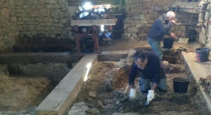 fouilles à Forgeneuve PCR 2019