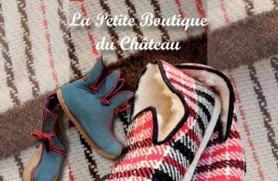 couverture de la plaquette de la boutique du château de Varaignes