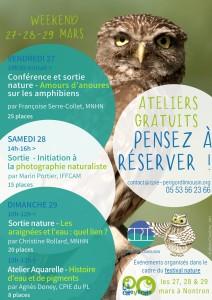Festival nature la Chevêche_ateliers_sur reservation