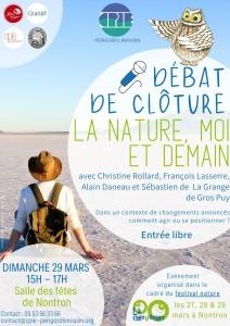 Festival nature la Cheveche_debat_dimanche29mars