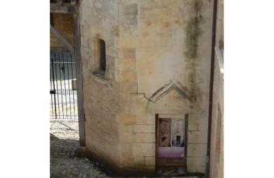 porte de la tour du château de Varaignes