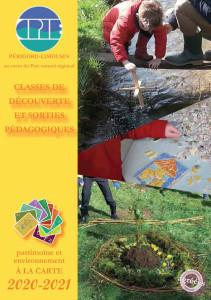 couverture du programme des classes découvertes-2020-2021